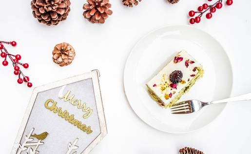 Decorazioni tavola di Natale al Ristorante
