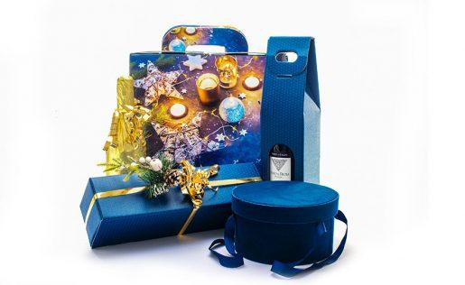 Confezioni di Natale Blu