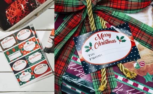 Etichetta adesiva Christmas Gift Eurofides
