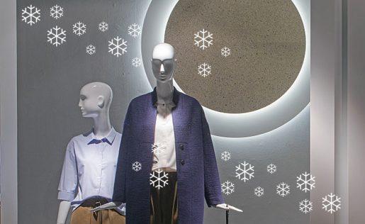Vetrofania invernale