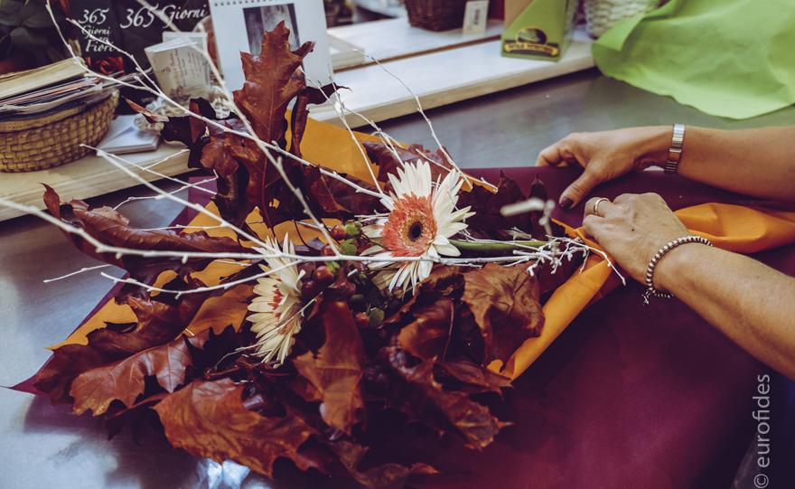 Fiori per bouquet autunnale