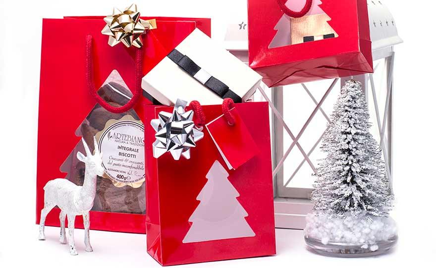 Shopper Christmas con finestra