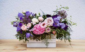 Cassette legno bianco per fiori