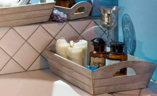 cesto legno profumeria