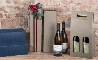 Confezionare bottiglie regalo