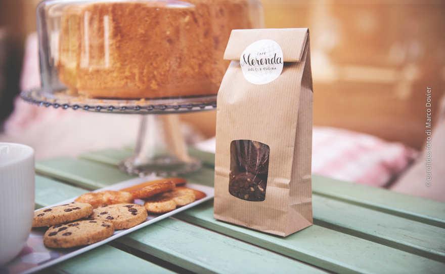 Etichetta personalizzata per sacchetti carta
