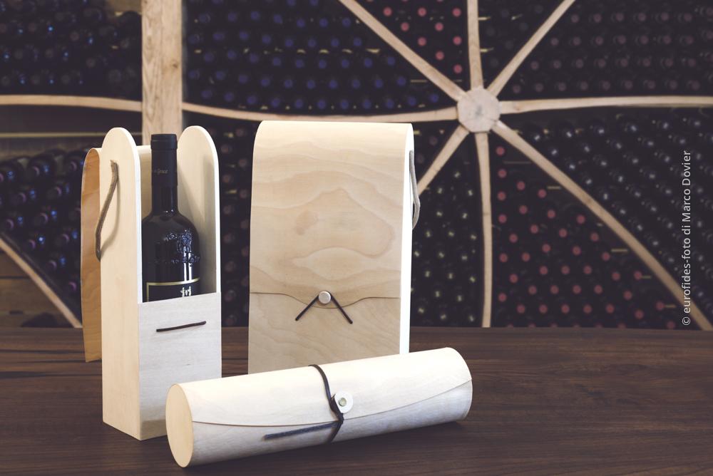 Confezioni vino in legno