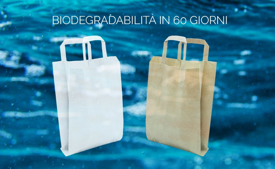 Flat Bag Biodegradabile