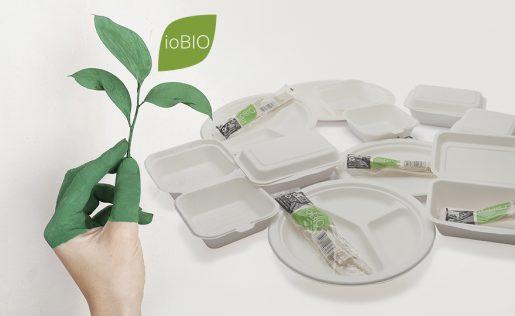ioBIO stoviglie compostabili Eurofides