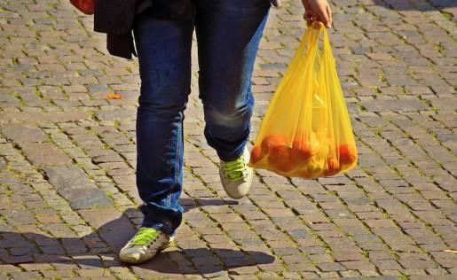 Shopper plastica ultraleggera