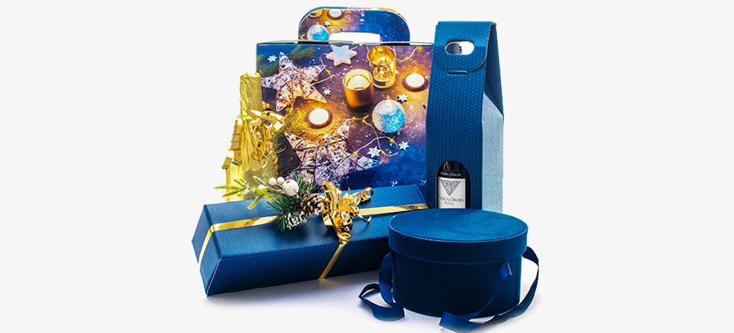 Confezioni in Blu