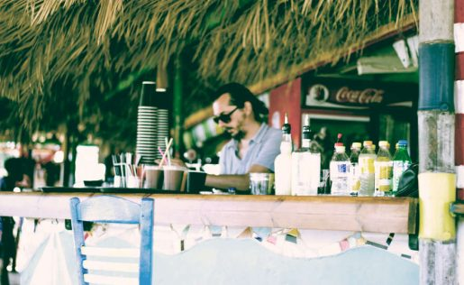 Bicchieri monouso bar spiaggia