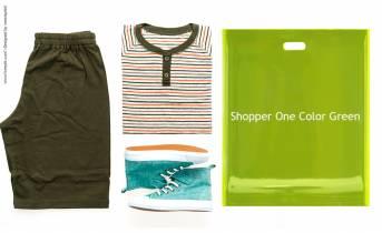 Shopper One Color Verde