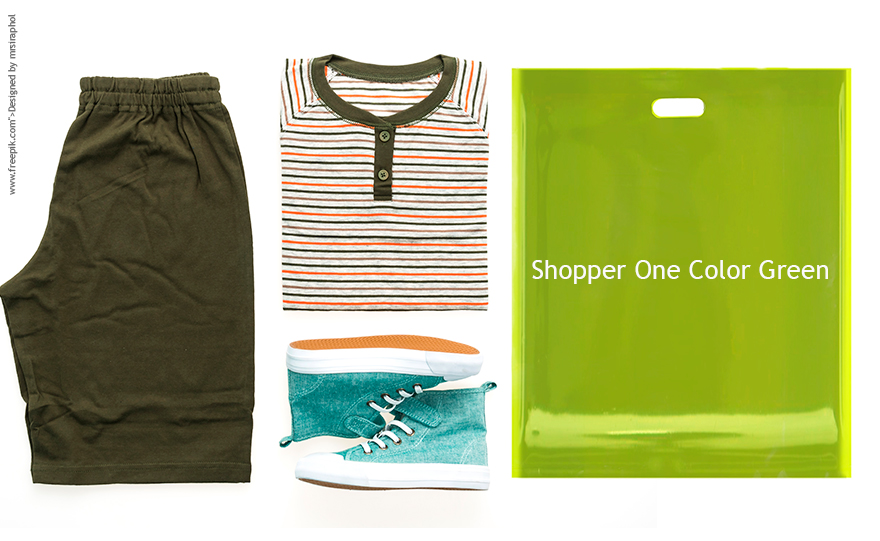 Shopper One Color Verde