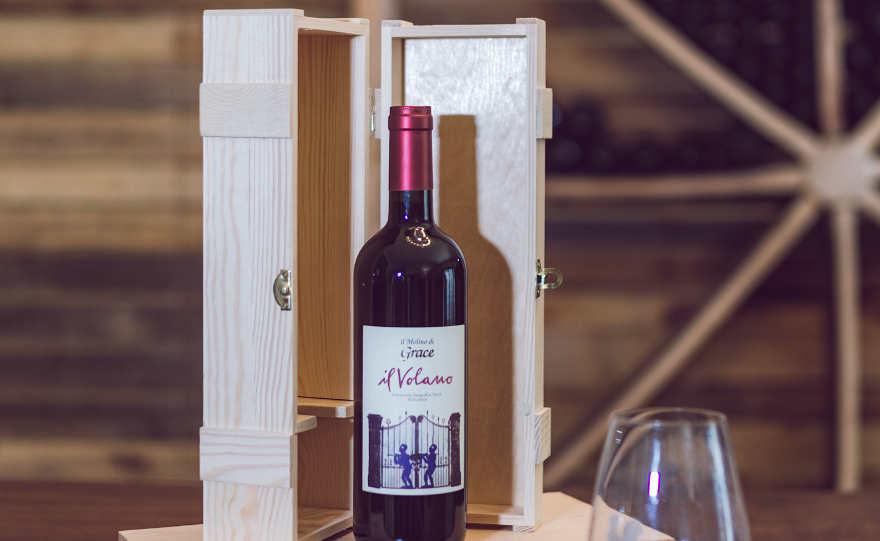 Scatola legno per vino