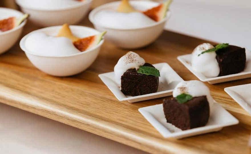 Piattini monouso dessert