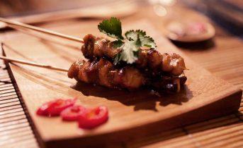 Piattino in bambù ristorazione