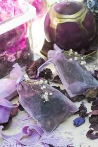 Sacchetti pot-pourri viola