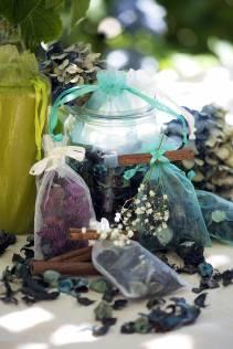 Idee sacchetti con pot-pourri