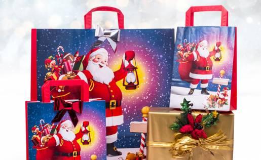 Shopper Babbo Natale