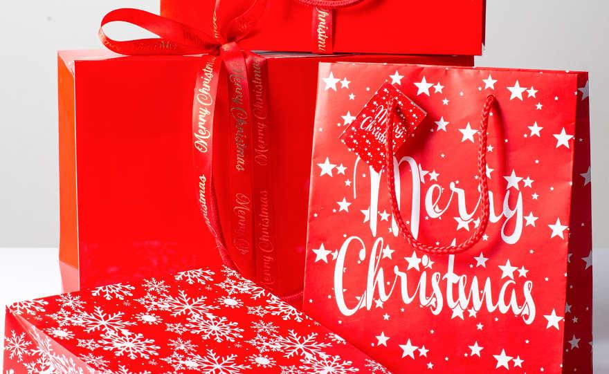 Anteprima packaging di Natale