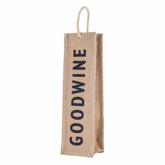 Portabottiglie di vino in juta Goodwine Eurofides