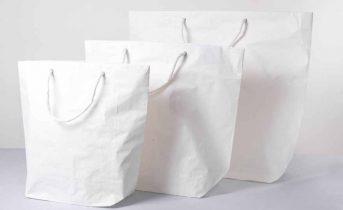 Shopper lusso ecologica carta cemento