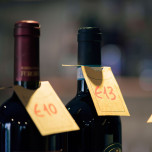 Cartellini Carta Kraft per Bottiglia