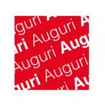 Etichetta Adesiva Auguri Quadrate Mix