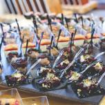Mini forchetta finger food Trasparente