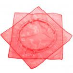 Sacchetti Organza con Laccetto Rosso