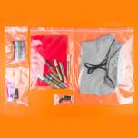 Sacchetti plastica chiusura a zip