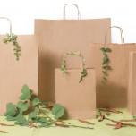 Shopper Carta Biokraft cordino Avana