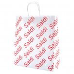 Shopper Carta Saldi Bianco