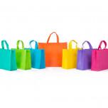 Shopper TNT Colorato Rosso