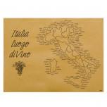 Tovaglietta Cartapaglia Italia del Vino