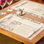 Tovaglietta Carta Journal