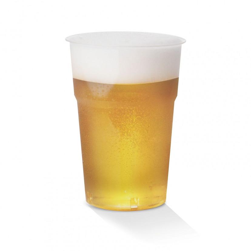 Bicchieri Plastica Trasparente 575cc Trasparente
