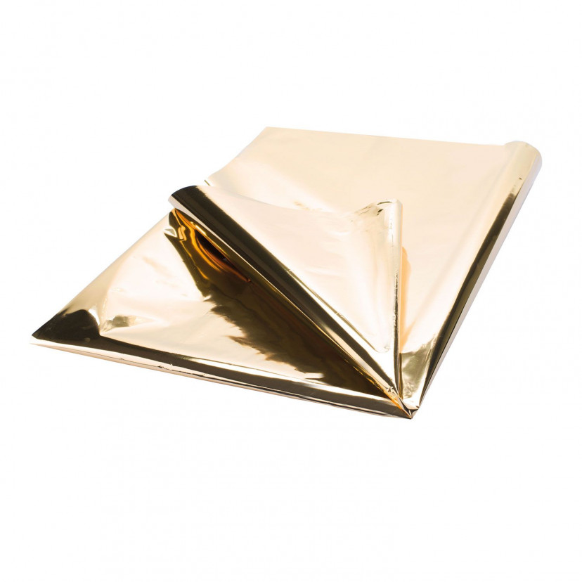 Carta Regalo Metallizzata Oro