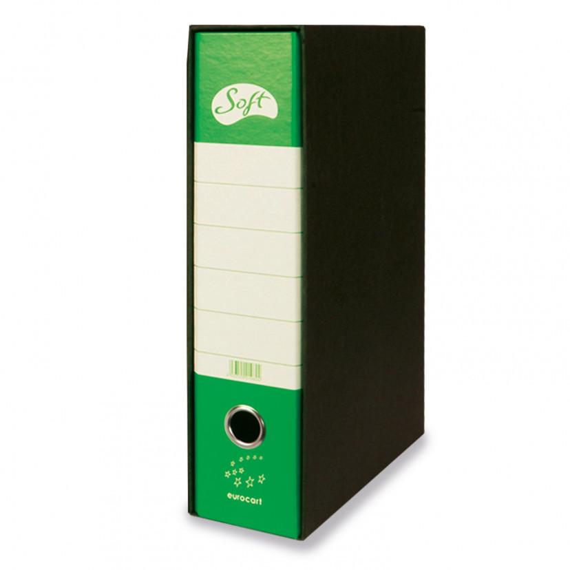 Registratori Soft dorso 8 Verde