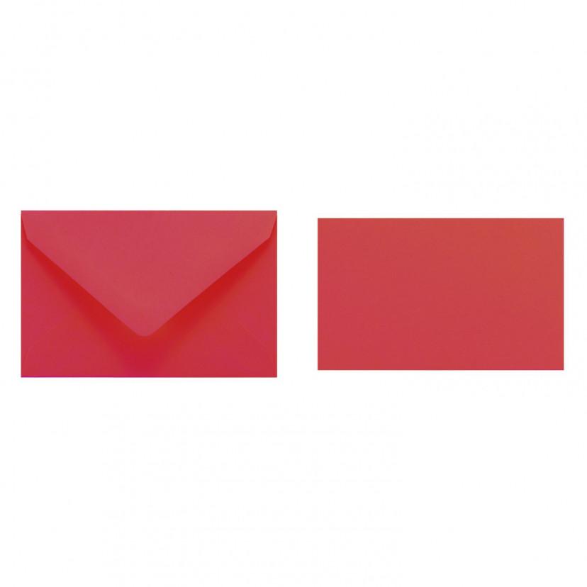 Bigliettini con Busta Rosso