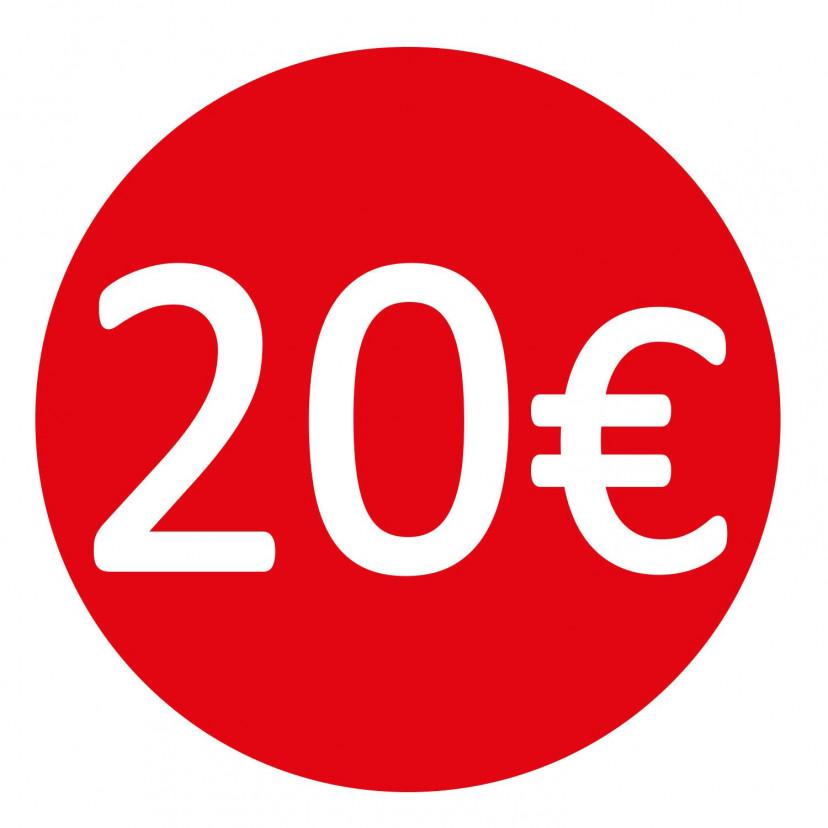 Etichetta 20€