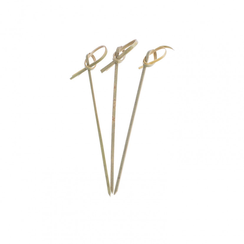 Spiedi Bambù con nodo