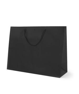 Shopper Carta Lusso Opaca orizzontale Nero