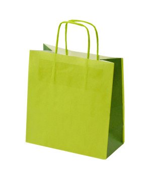 Shopper Carta Bicolor Verde