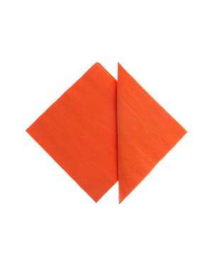 Tovaglioli Tissue Unicolor 25x25 cm Arancio