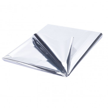 Carta Regalo Metallizzata Argento