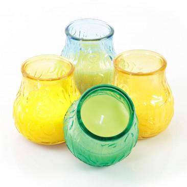 Vasetti di Vetro con Citronella Mix2