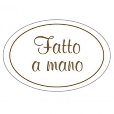 Etichetta Adesiva Fatto a Mano