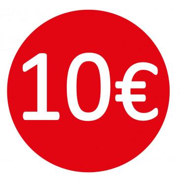 Etichetta 10€